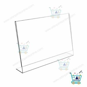 Table Top Acrylic Changeable Display