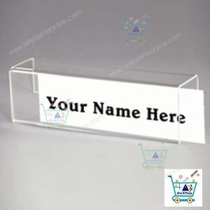 name plate for cubical work station