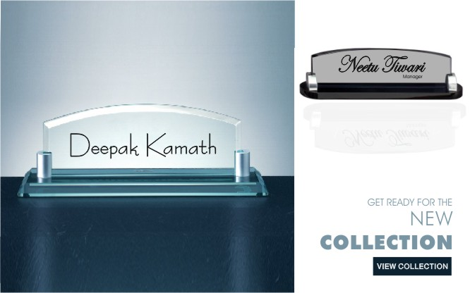 New Collection Office name Plates